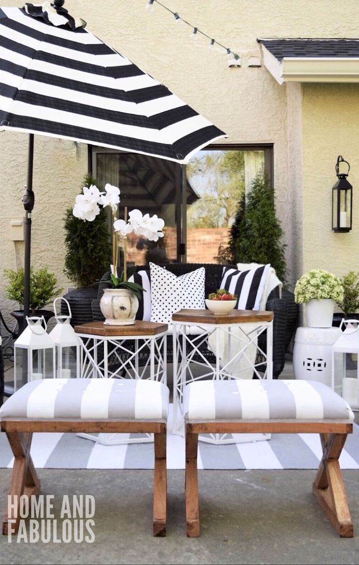 17 best ideas about small patio on pinterest small patio for Patios decorados