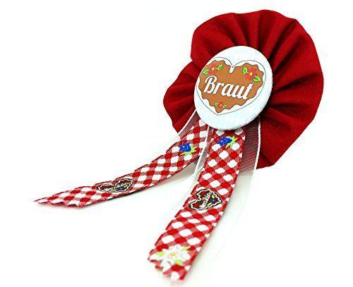 AnneSvea Orden - Braut Orden rot Herzilein Madl Bride to be Oktoberfest JGA Jungegesellinnenabschied Button Geschenk AnneSvea http://www.amazon.de/dp/B015EVKEHS/ref=cm_sw_r_pi_dp_Ceq-vb0H9MSWG