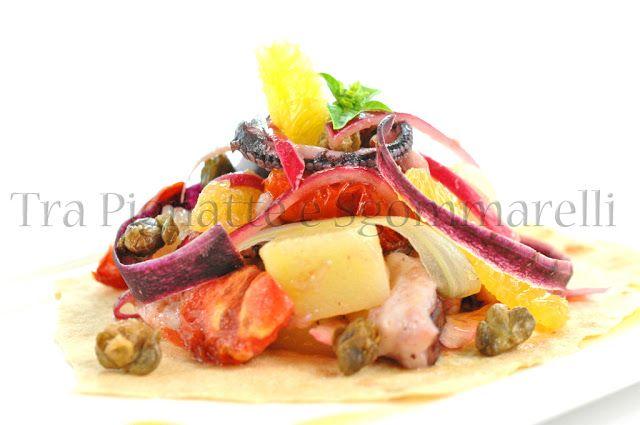 Le mie ricette - Il polpo in insalata, con influenze catalane | Tra Pignatte e Sgommarelli