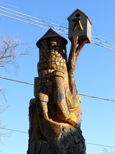 Best chain saw art images on pinterest tree carving