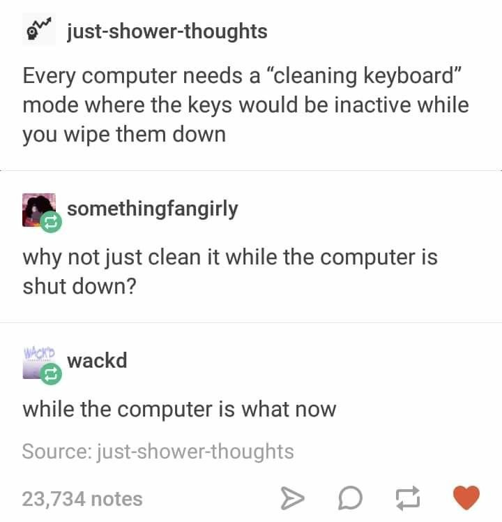The computer can do what?!