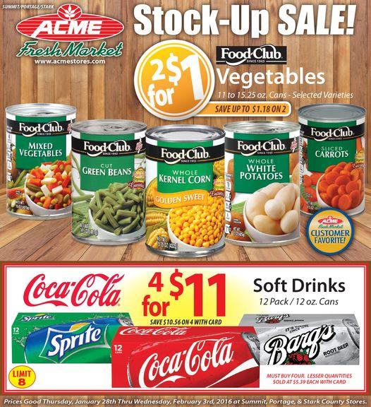 Acme Circular January 28 - February 3, 2016 - http://www.kaitalog.com/acme-weekly-ad.html