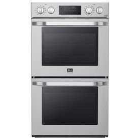 Lg Studio Convection Double Electric Wall Oven (Stainless Steel) (Comm