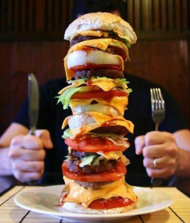 Image result for mega burger