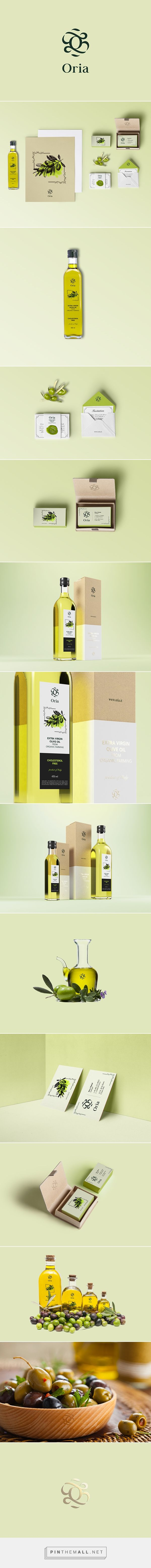Oria - olive oil producer on Behance... - a grouped images picture - Pin Them All