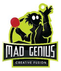 Mad Genius - Ping Pong Logo