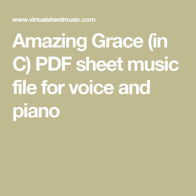 Amazing Grace Piano Sheet Music And Lyrics: Best 25+ Amazing Grace Sheet Music Ideas On Pinterest