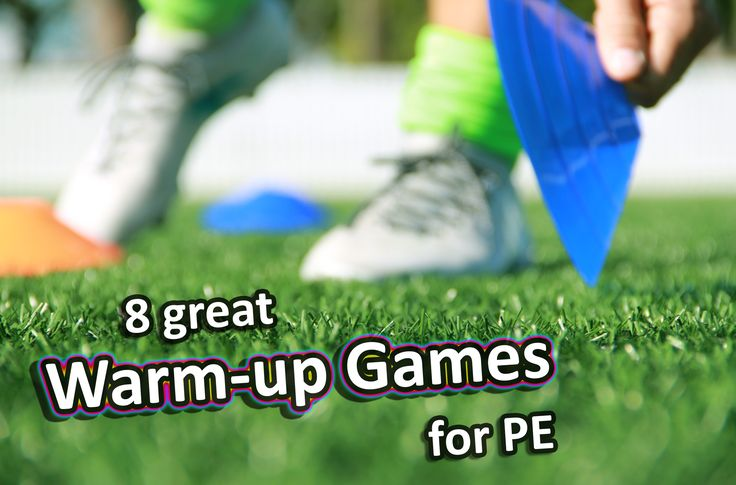 Grade 3-6 PE sport warm up activities to try in your next lessons