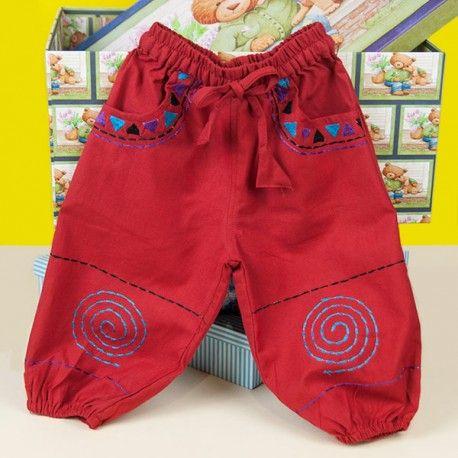 Pantalon bombacho para niños.