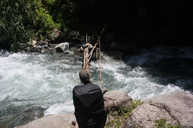Should I cross? Eloa River, Bulldog Track, Papua New Guinea