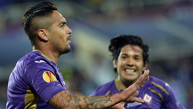 Juan Vargas quiere ganar la Europa League. (AFP)