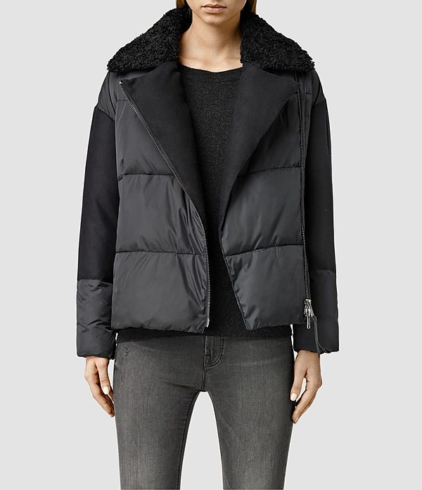 Biker Puffa Jacket-- wish this came in black for like $300 less...
