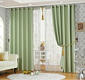 Allot of different single color curtains - good price