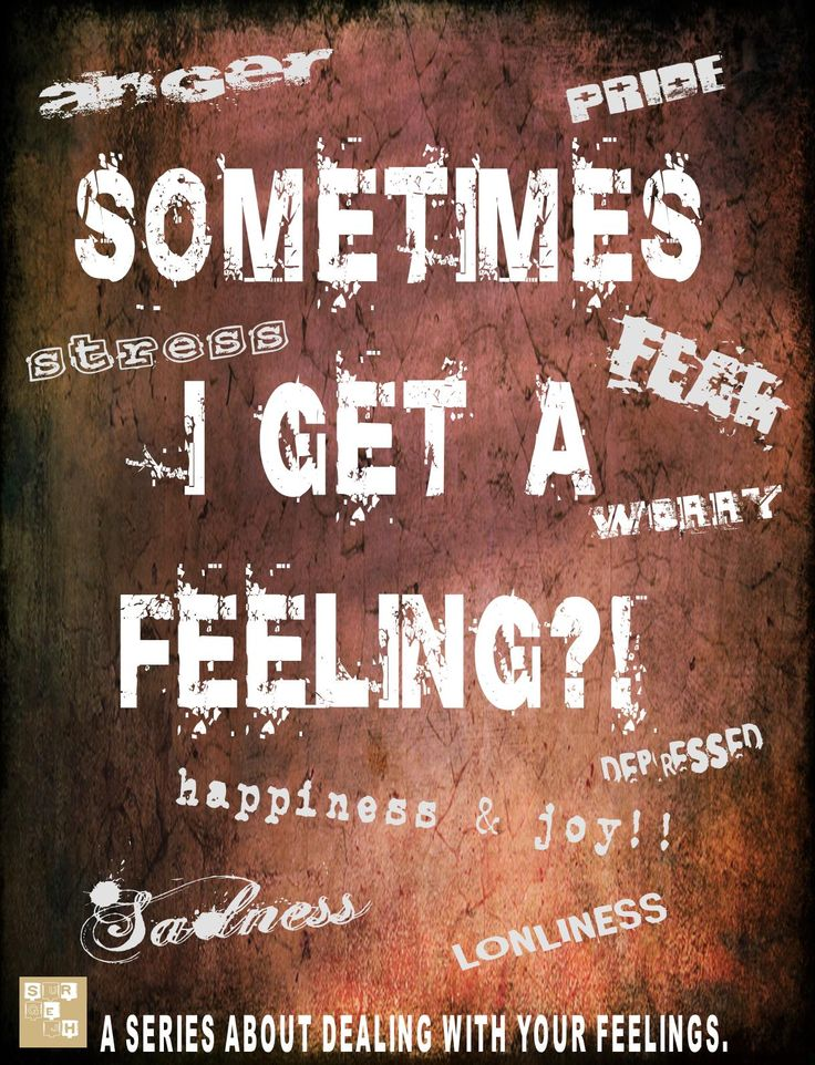 The JH Uth Guy: Lesson Series: Sometimes I Get A Feeling?