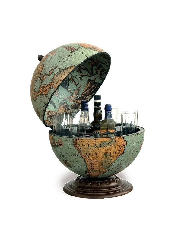 Globe Bar Desk Greenblue Around The World Pinterest And Desks