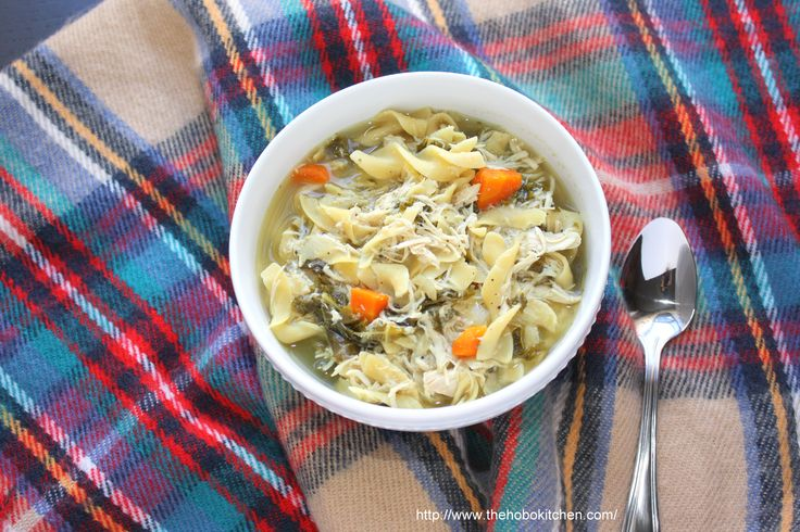 Slow Cooker Chicken Soup with Kale