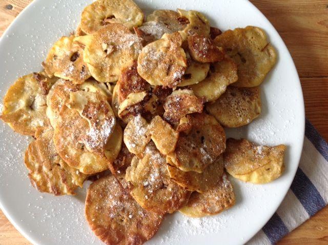 placki z jabłkami dietetyczne z mąki gryczanej