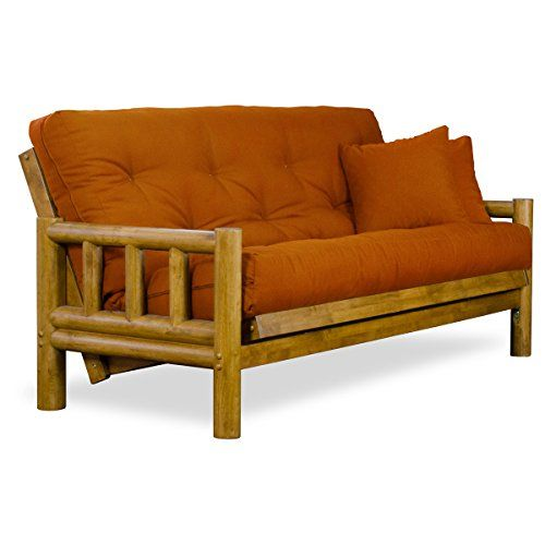 Rustic Tahoe Log Full Size Wood Futon Frame  Heritage Finish ** Want to know more, click on the image.Note:It is affiliate link to Amazon.