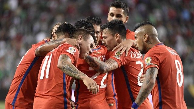 Chile National Team #CopaAmerica2016