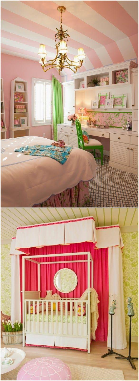 Σπίτι και κήπος διακόσμηση: 15 Υπέροχες Ιδέες για το σχεδιασμό της οροφής στο παιδικό δωμάτιο