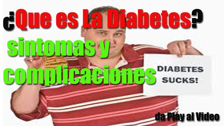 ENTERATE TODO ACERCA DE LA DIABETES VIDEO