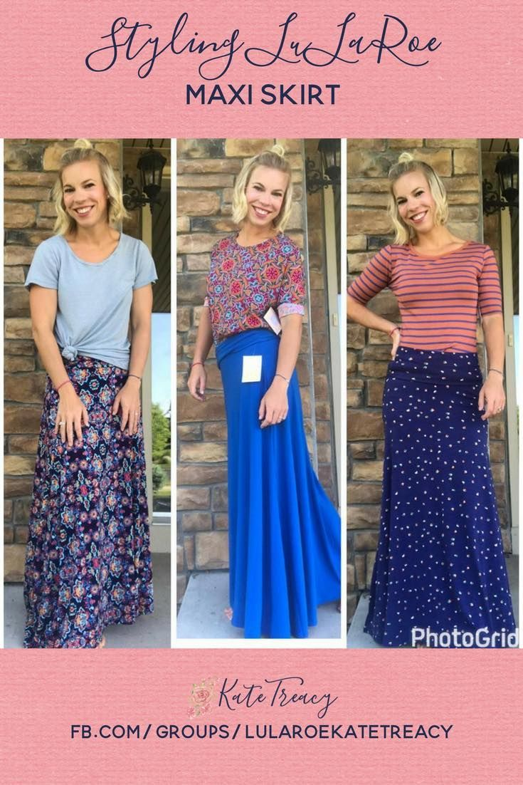 96586d4f6b How to style the LuLaRoe Maxi Skirt for Spring. How to mix and match  patterns   prints. This comfortable skirt is the perfect addition to your  closet.