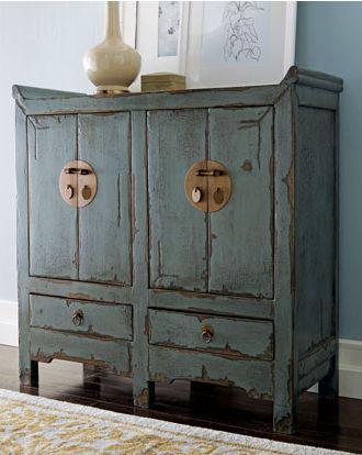 Best + Blue distressed furniture ideas on Pinterest  Layer