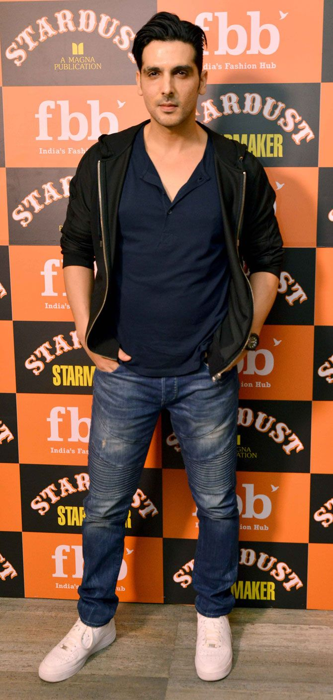 Zayed Khan at the launch of 'Stardust Starmaker' magazine. #Bollywood #Fashion #Style #Handsome