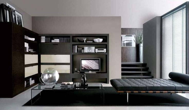 29 Beautiful Black and Silver Living Room Ideas to Inspire black-and-silver-living-rooms-27