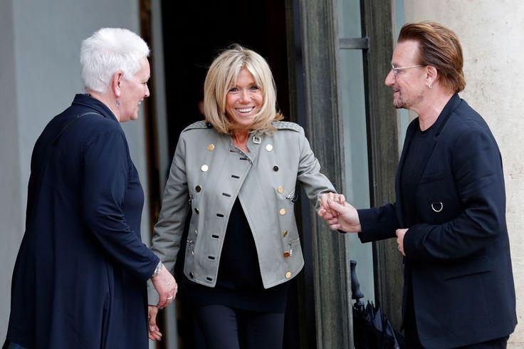 Le chanteur Bono était lundi de retour à l'Elysée reçu par Emmanuel Macron, qui lui a confirmé vouloir porter l'aide au développement «à 0,55% (du PIB...