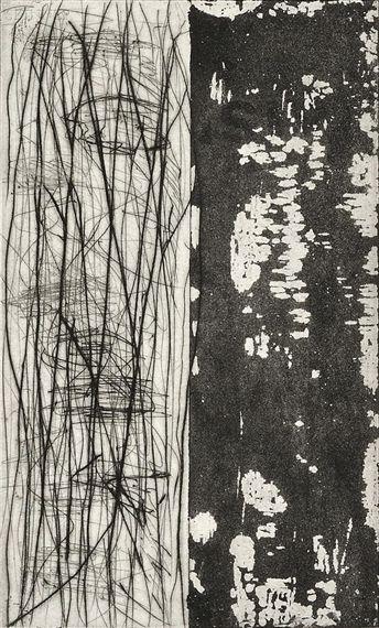 Günther Förg / 4 Works: Portfolio / Etching with aquatint on paper / Dimensions: 17.62 X 13.12 in (44.75 X 33.32 cm) / 2011
