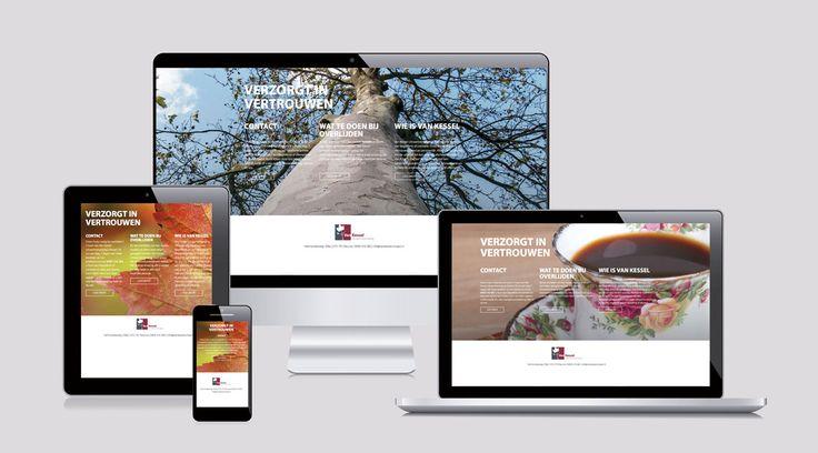 #webdesign Van Kessel Uitvaart #fotografie #concept