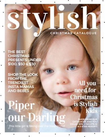 Our Shopping Catalogues are a long time dream of mine to transform Stylish Kids Australia into THE BEST Online Magazine in the Insta Mum-World.
