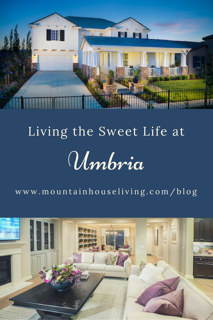 Umbria Is A Stunning Neighborhood In Mountain House Built By Shea Homes!  Learn More About