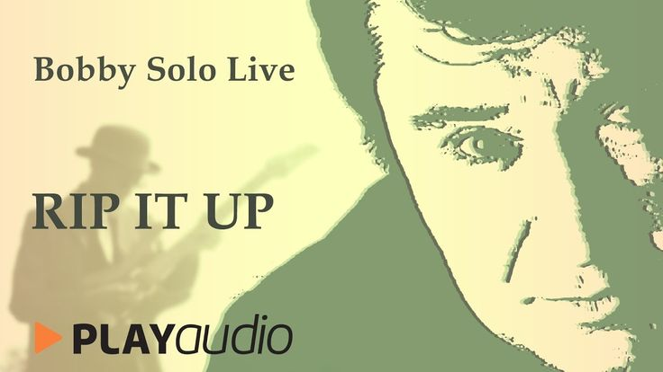 Rip It Up - Bobby Solo Live in  Sabbioneta - PLAYaudio