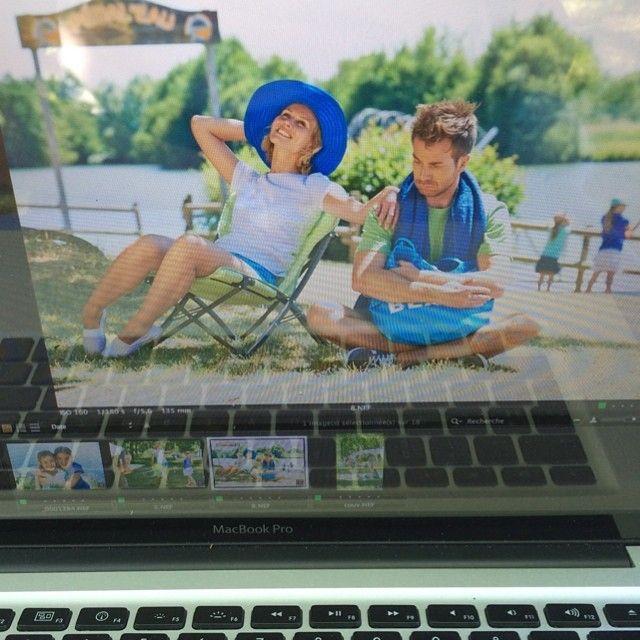 les Coulisses du shooting photos de #trigano #camping