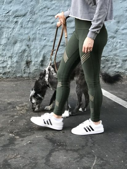 5d760c313c2 DTLA walks in my new ALO leggings and Adidas sneakers #adidas #aloyoga  #athleisure #MyShopStyle #getthelook #ShopStyle #currentlywearing