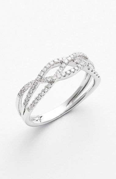 Bony Levy Braided Diamond Ring (Nordstrom Exclusive) | Nordstrom