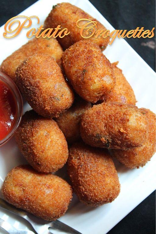 YUMMY TUMMY: Potato Croquettes Recipe