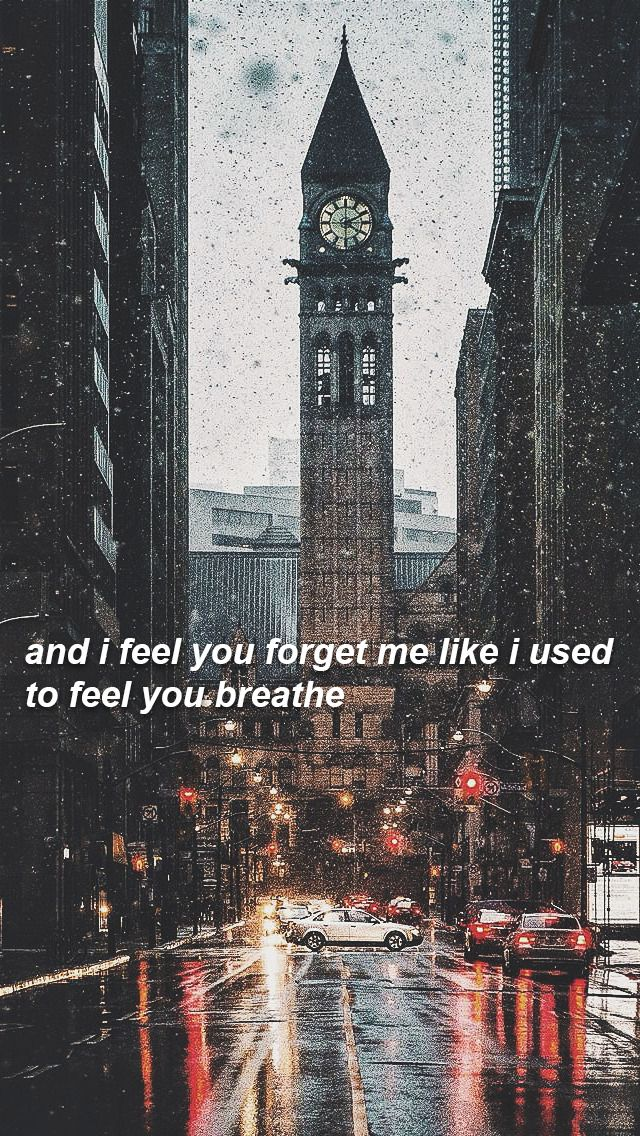 And I'll watch your life in pictures like I used to watch you sleep..Last kiss // Taylor Swift
