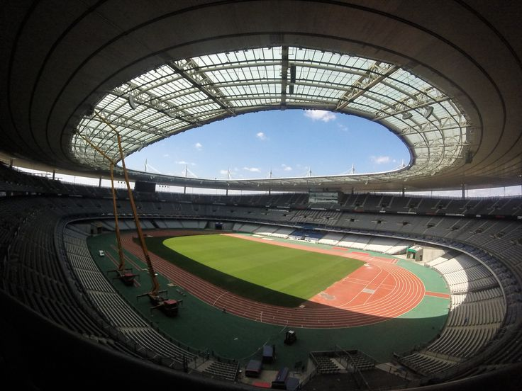 My visit to Stade de France #france #football #GoPro #photography #stadium #travel