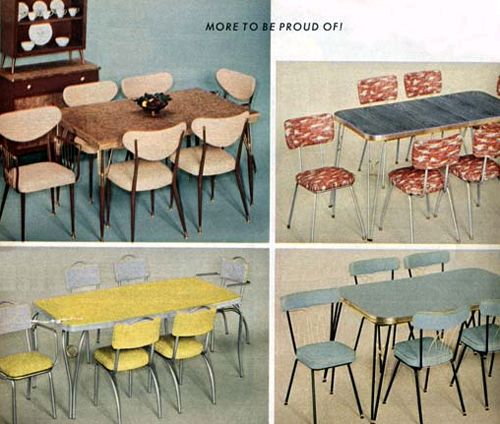 46 best Vintage Dinette images on Pinterest