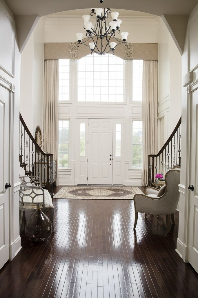 Large Foyer Window Treatment : Best ideas about two story foyer on pinterest