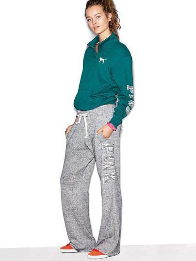 Boyfriend Pant and Top combo - PINK - Victoria's Secret, size M