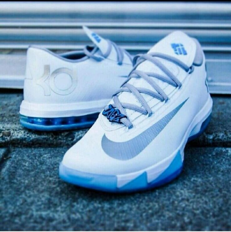 nike kevin durant basketball shoes blue foamposites