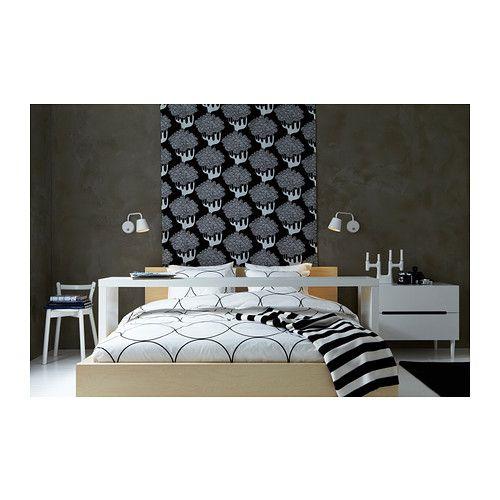 malm bed frame high queen ikea
