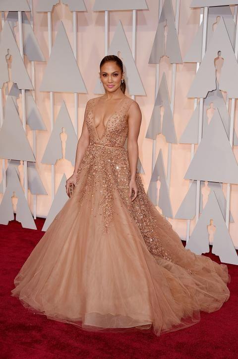 Jennifer Lopez's 2015 Oscars Dress  #InStyle