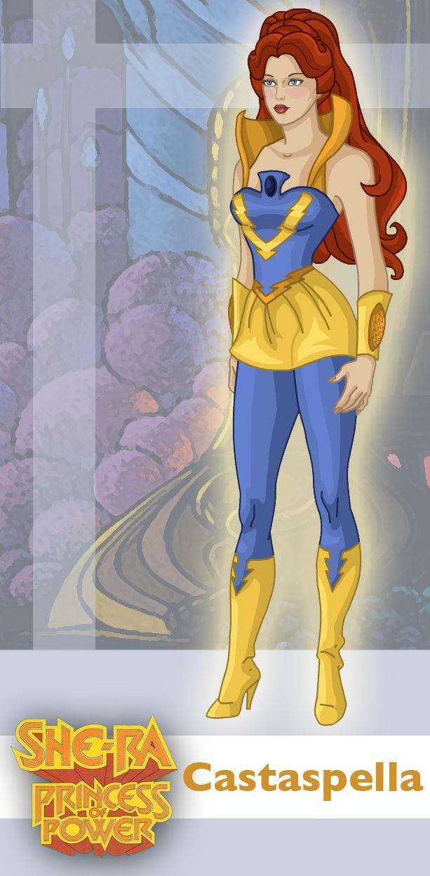 Princess of Power: Castaspella by ~davidgozu on deviantART