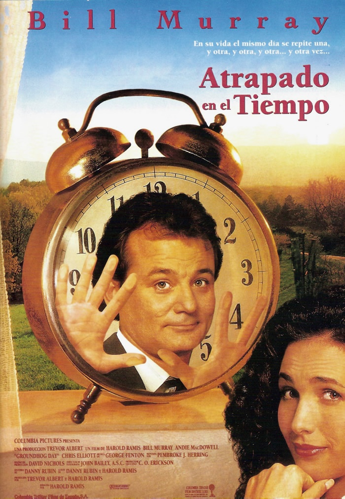 Atrapado en el tiempo (1993) EEUU. Dir: Harold Ramis. Comedia. Romance. Vida rural - DVD CINE 86