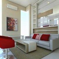 Nuansa Hangat Dalam Villa Bertema Modern Minimalis